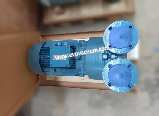 Milking machine selection vacuum pump