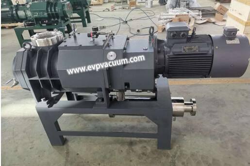 dry screw vacuum pump in solvent dewaxing process
