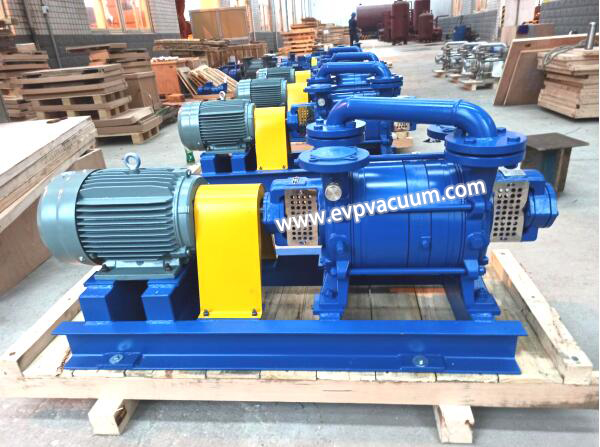 2 Stages Water Ring Vacuum Pumps Used In glove factory